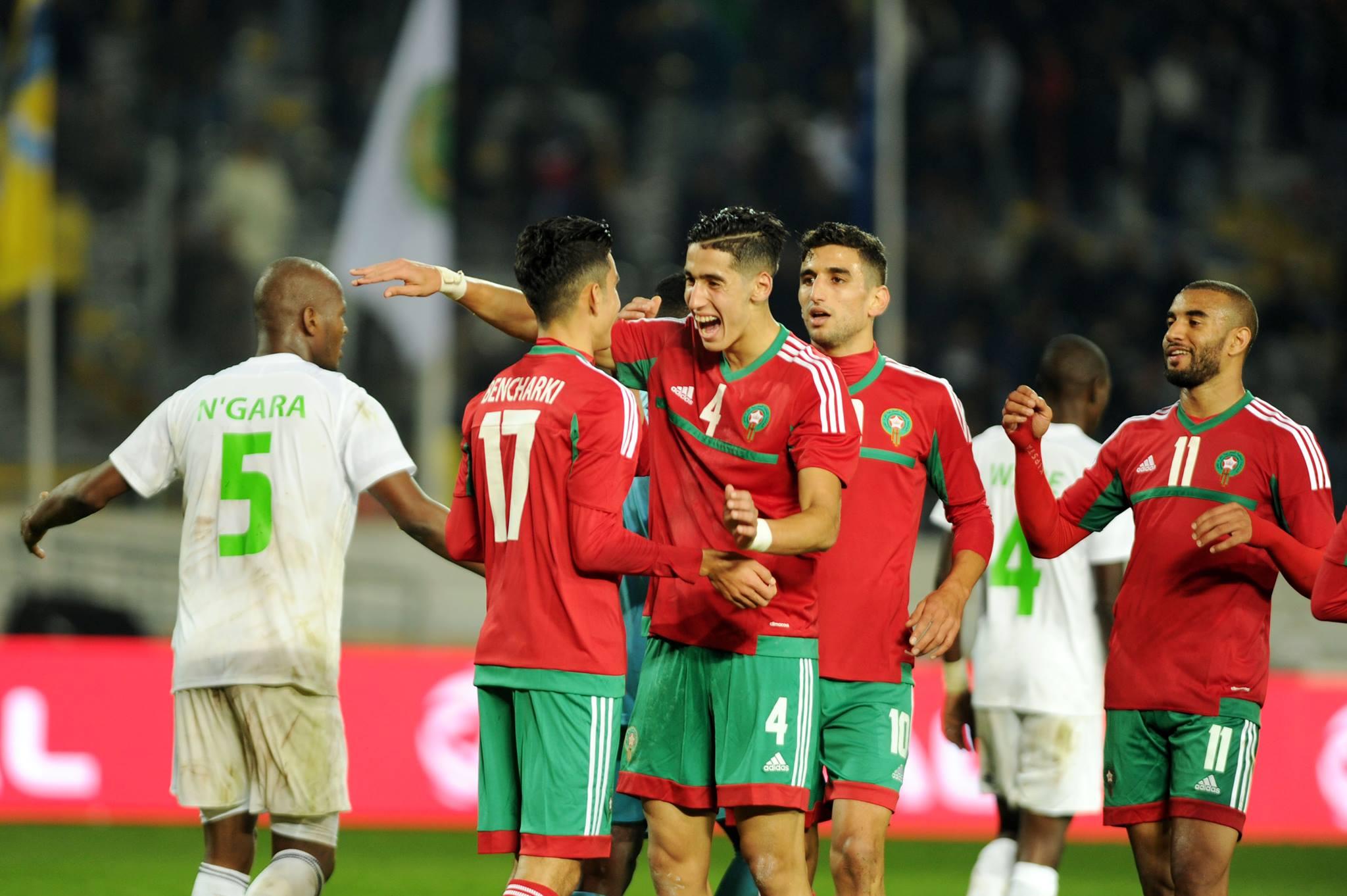تشكيلة المنتخب الوطني المحلي التي ستواجه منتخب نيجيريا في النهائي