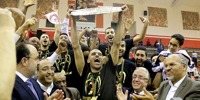 جمعية سلا بطلا للمغرب لكرة السلة
