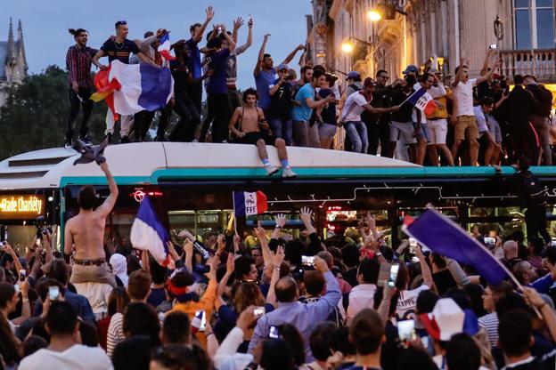 مونديال 2018: فرنسا تحبس أنفاسها قبل ساعات من النهائي الثالث