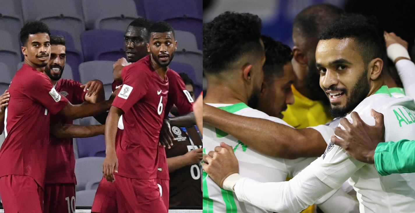 كأس آسيا 2019: ضمان التأهل ينفس احتقان مواجهة السعودية وقطر