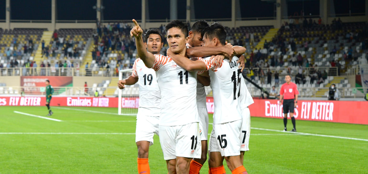 كأس آسيا 2019: فوز كبير للهند على تايلاند 4-1