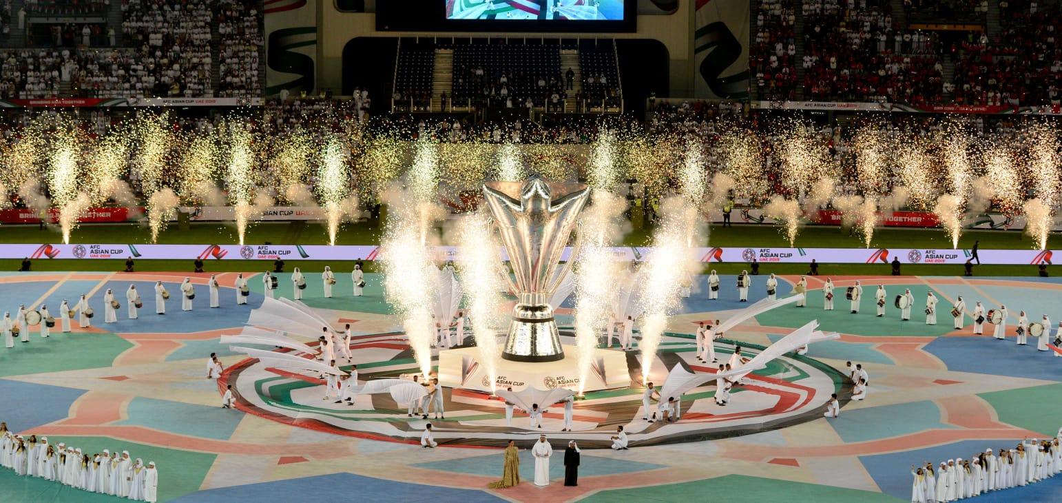 افتتاح كأس أمم آسيا 17 لكرة القدم بعرض مبهر