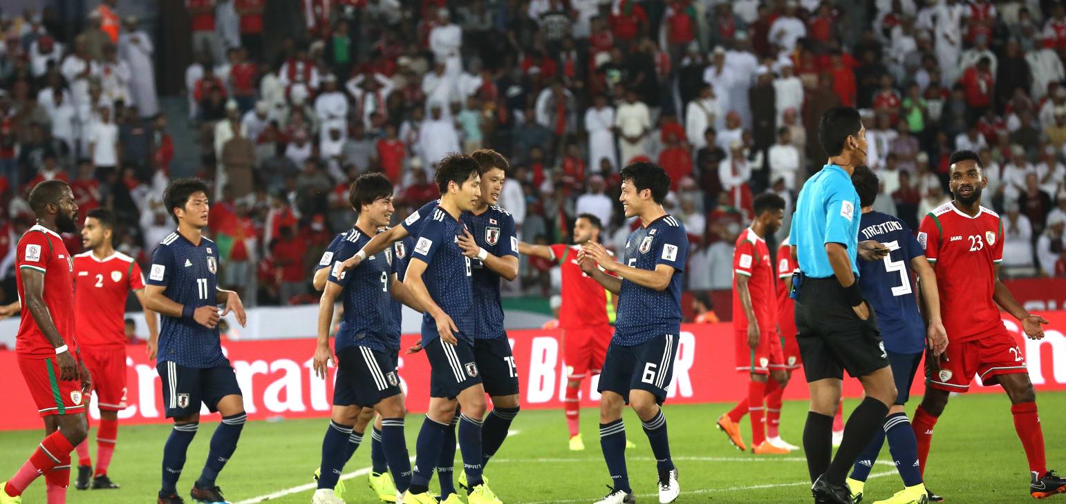 كأس آسيا 2019: اليابان إلى دور الثمن بفوز جدلي على عمان