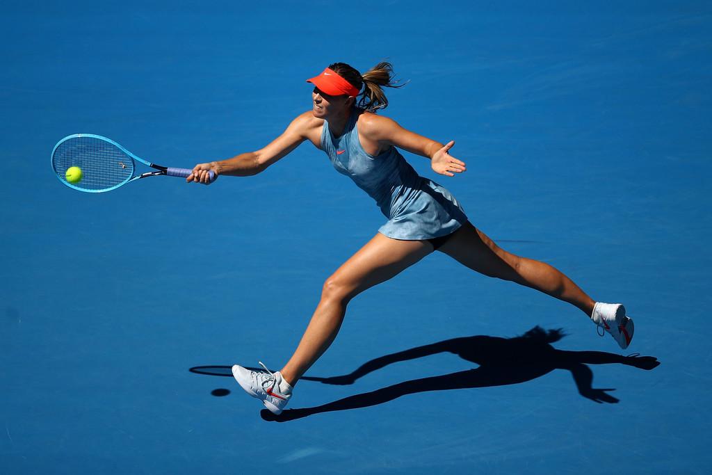دورة أستراليا المفتوحة: شارابوفا تقصي حاملة اللقب فوزنياكي