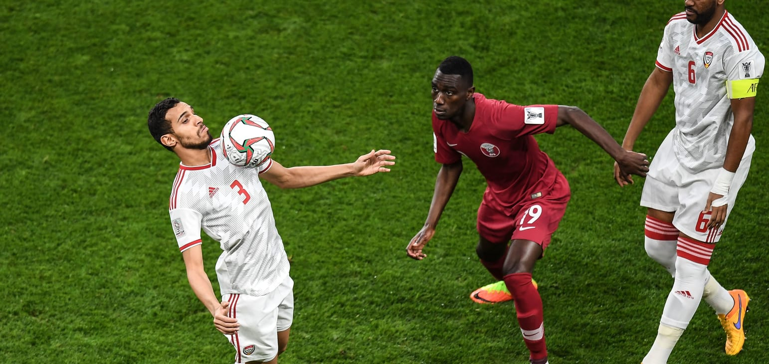 كأس آسيا 2019: الاتحاد القاري يرفض اعتراضا اماراتيا حول أهلية لاعبين قطريين