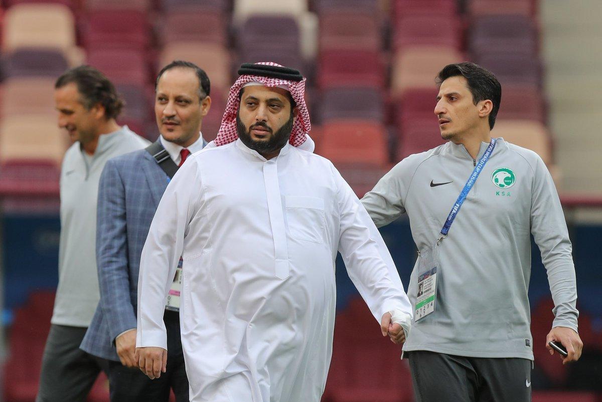 تركي آل الشيخ يصوب على الأهلي مع عودته لبيراميدز