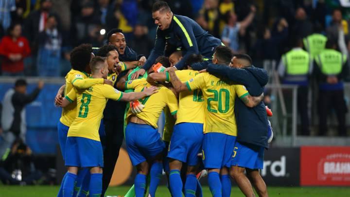 ضربات الترجيح تنقذ البرازيل من فخ باراغواي بكوپا امريكا