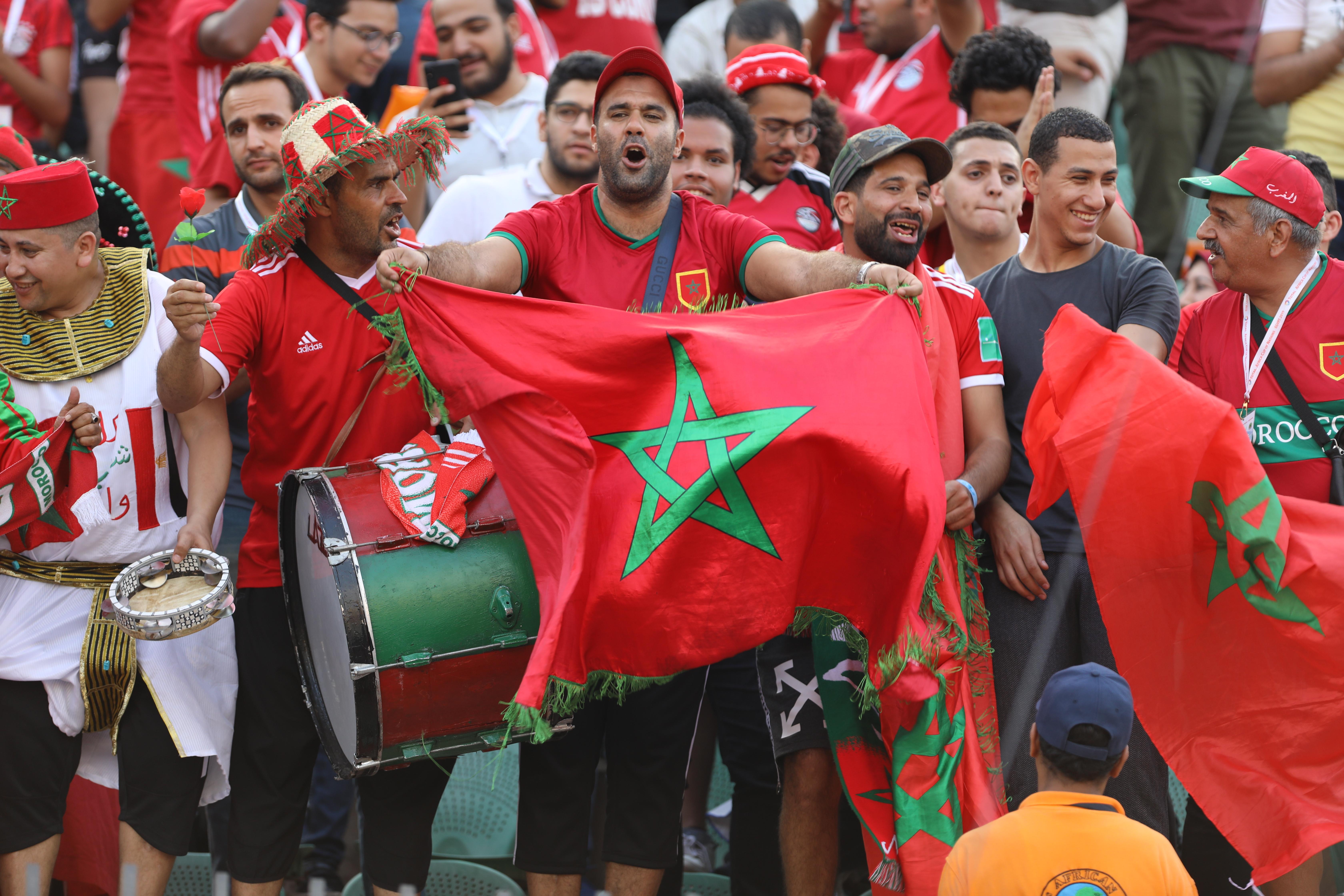 الأسود يشكرون الجماهير المغربية