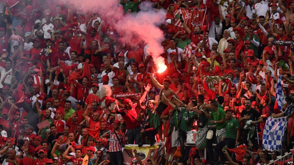 القنوات المصرية منبهرة بالجمهور المغربي