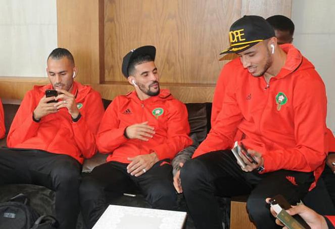 المنتخب المغربي وصل أمس ليلا