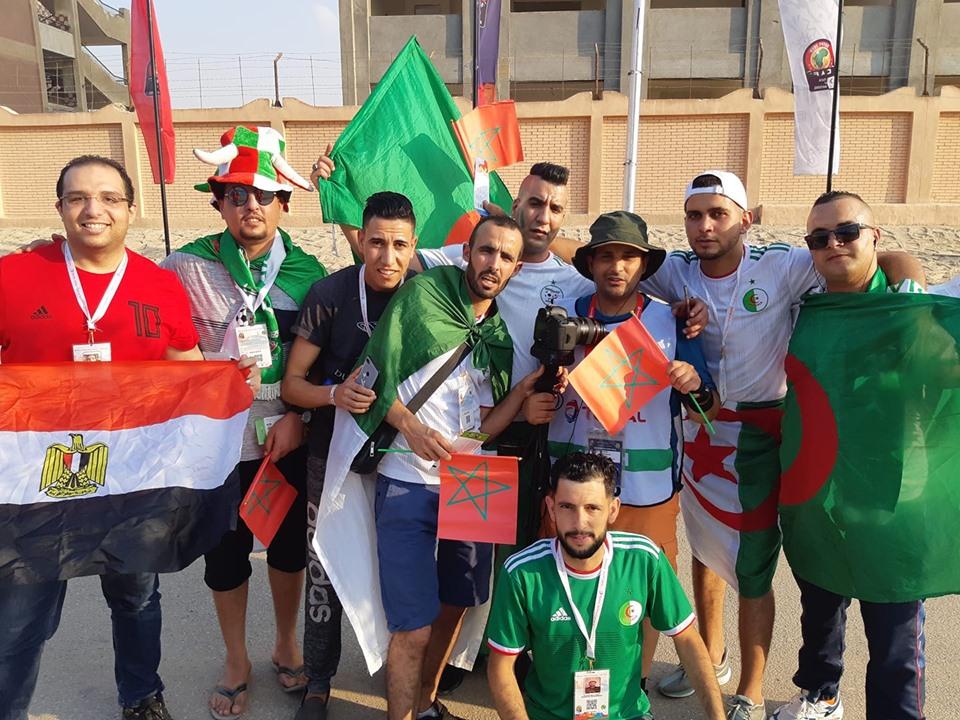 منع الكثير من الجزائريين من الدخول لملعب السلام