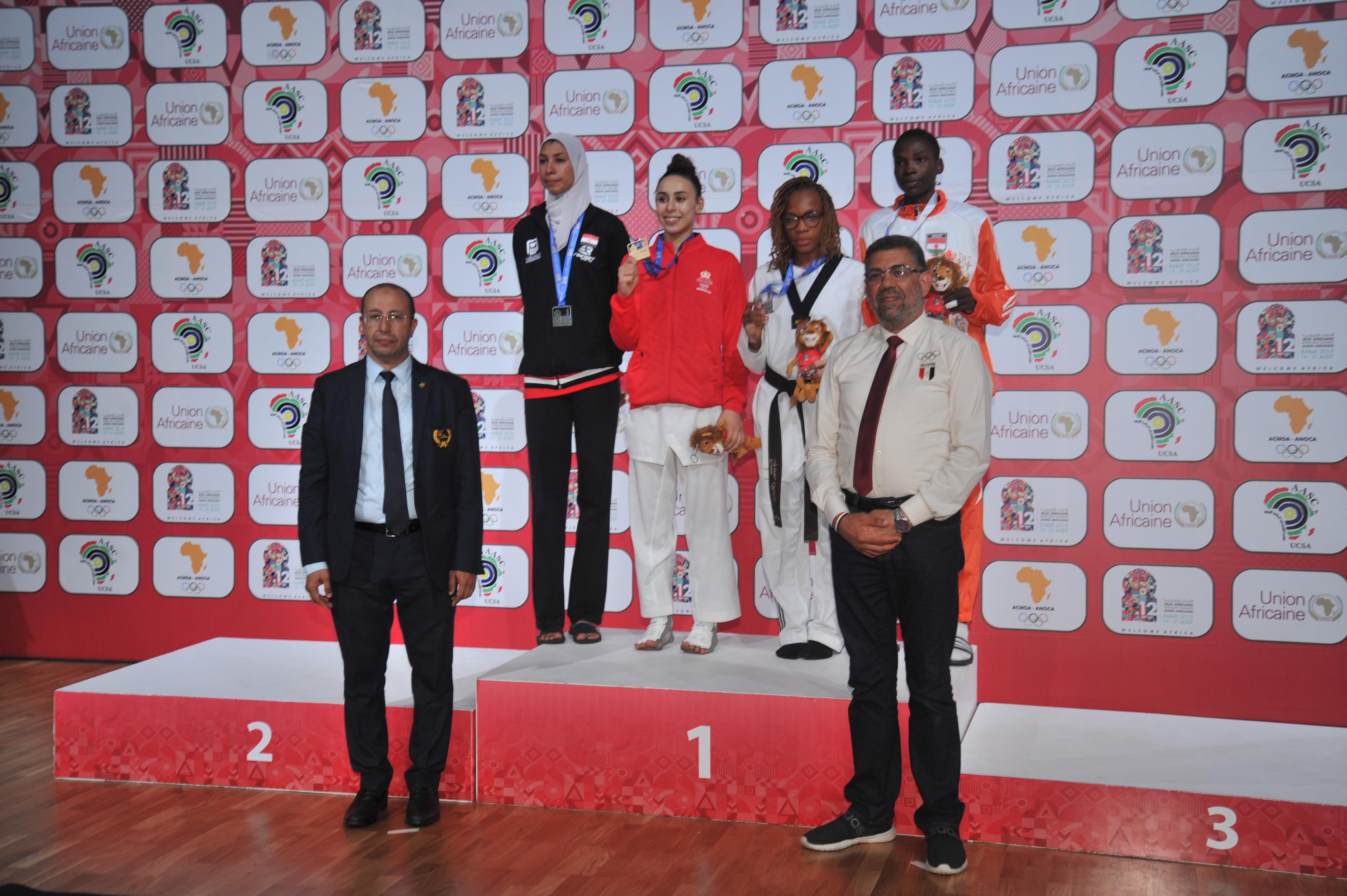 ندى لعرج تمنح المغرب الميدالية الذهبية الخامسة في التايكواندو