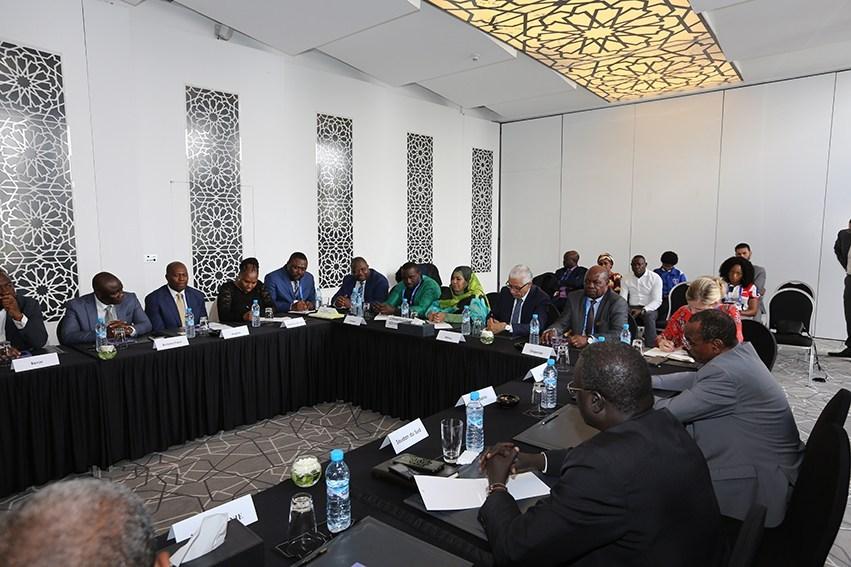 وزراء الرياضة الأفارقة يشيدون بالتنظيم الرائع للألعاب