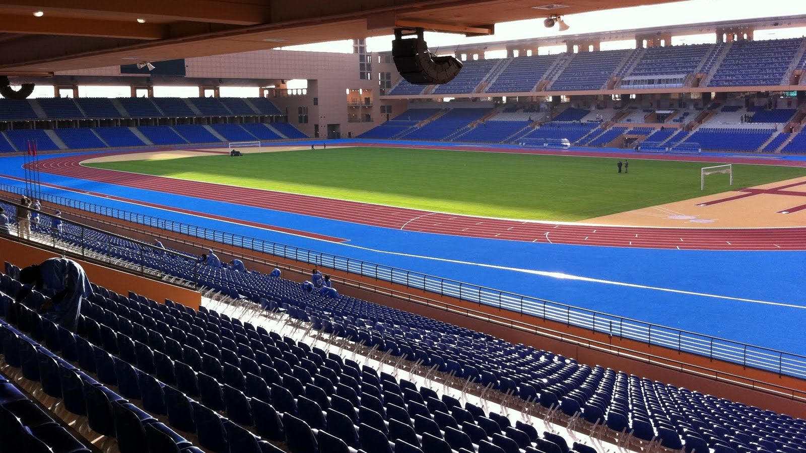 هذا الملعب يحتضن مباراة المغرب ومالي لأقل من 23 سنة