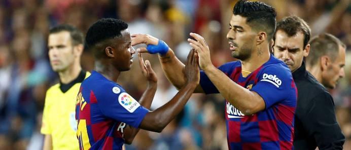بطولة إسبانيا: خماسية لبرشلونة وفوز مدريدي لريال وخسارة لأتلتيكو