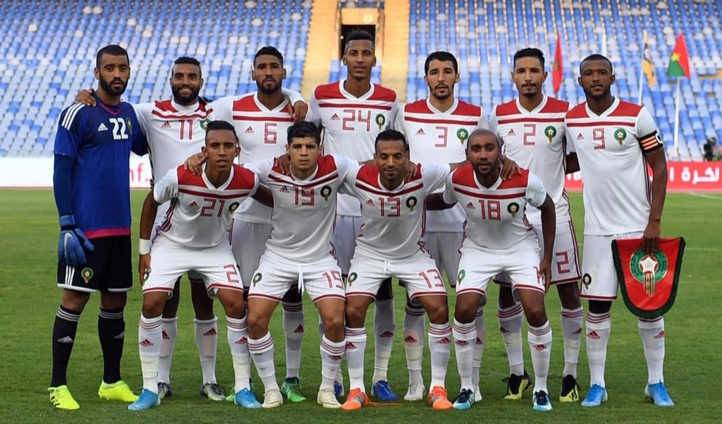 استقبال كبير على شرف المنتخب المغريي المحلي بالجزائر
