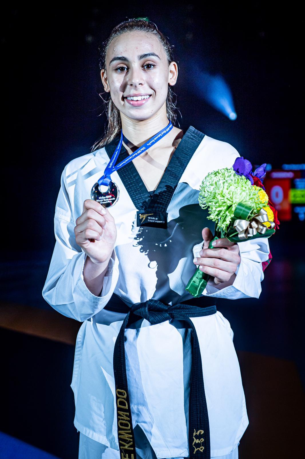 أول فضية للتايكواندو المغربي في الجائزة الكبرى باليابان