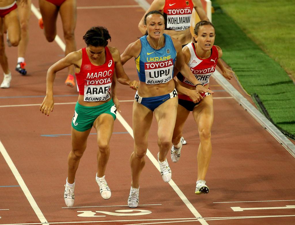 رباب عرافي في نهائي 800 متر لبطولة العالم