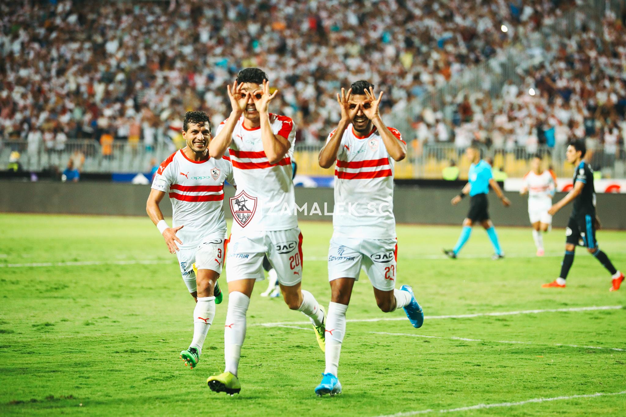 بنشرقي أول أجنبي في الزمالك يفعلها بتاريخ كأس مصر