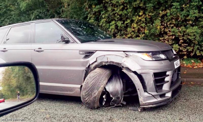 أغويرو ينجو من حادث سير