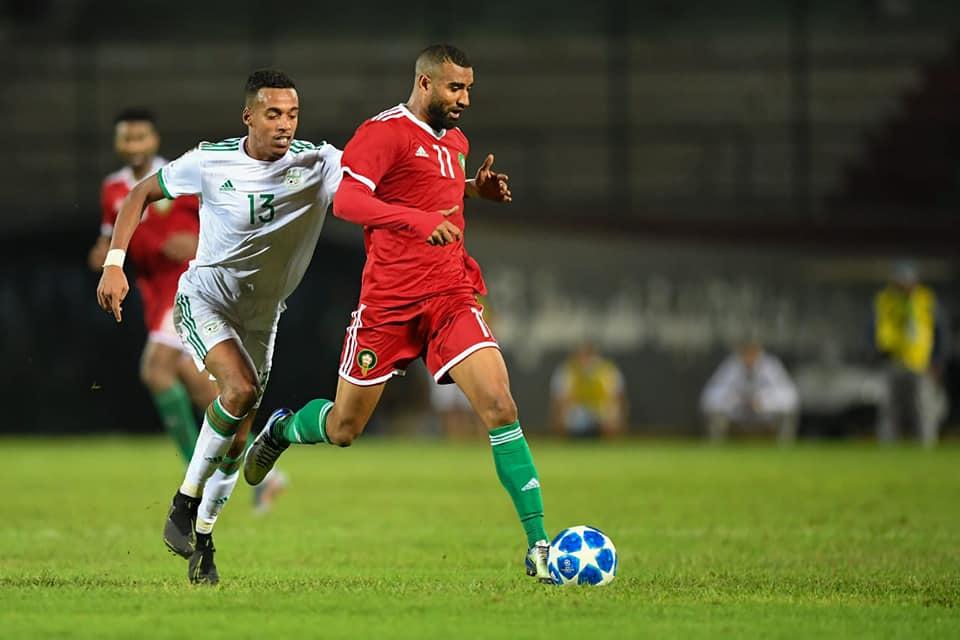 إقبال كبير على تذاكر مباراة المغرب والجزائر