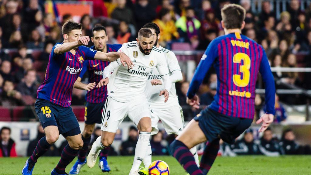 رسميا تأجيل مباراة برشلونة وريال مدريد