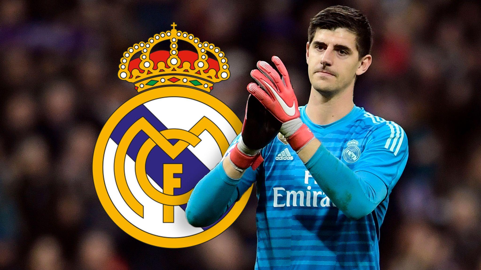 ريال مدريد ينفي تعرض كورتوا لنوبة قلق