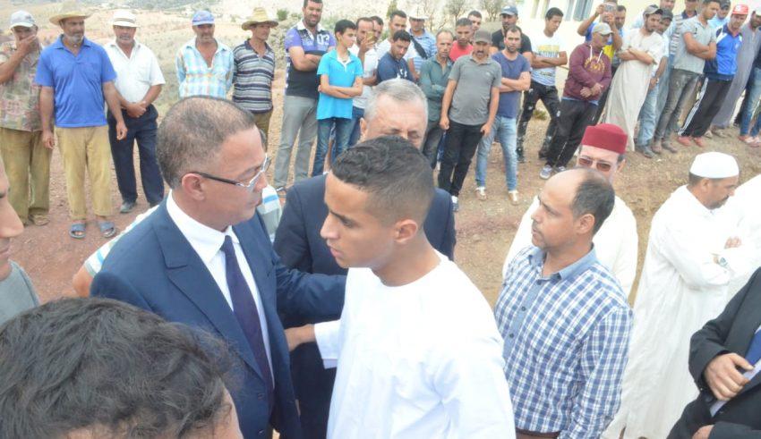 إحطارين يشكر رئيس الجامعة