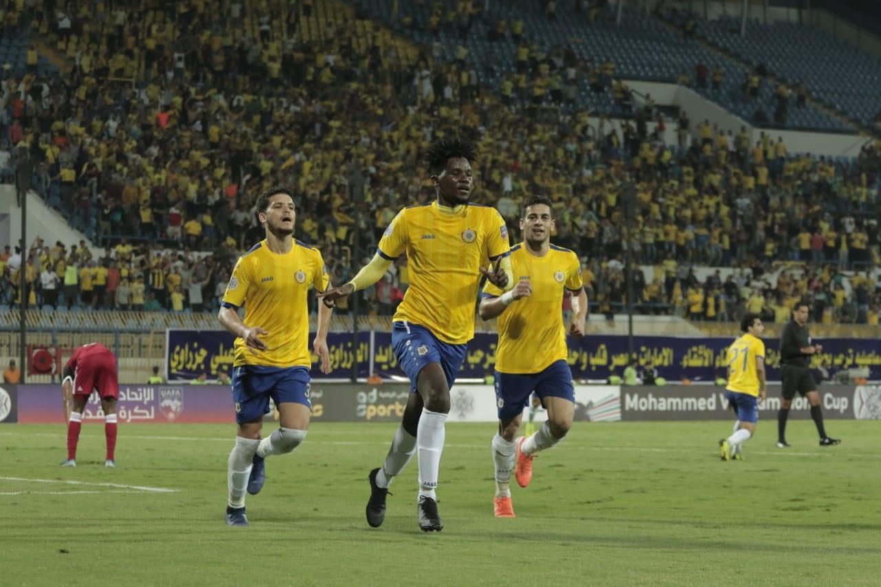 كأس محمد السادس: الإسماعيلي المصري يهزم الجزيرة بثنائية