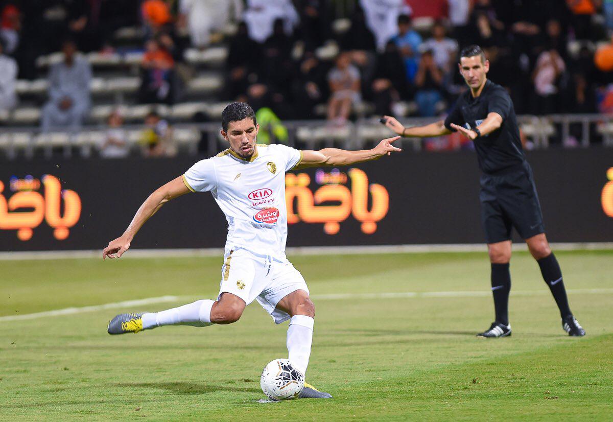 الهدف الثالث لمروان سعدان