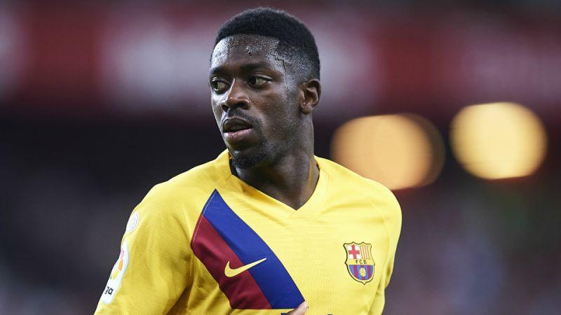 برشلونة يعلن إصابة ديمبيلي