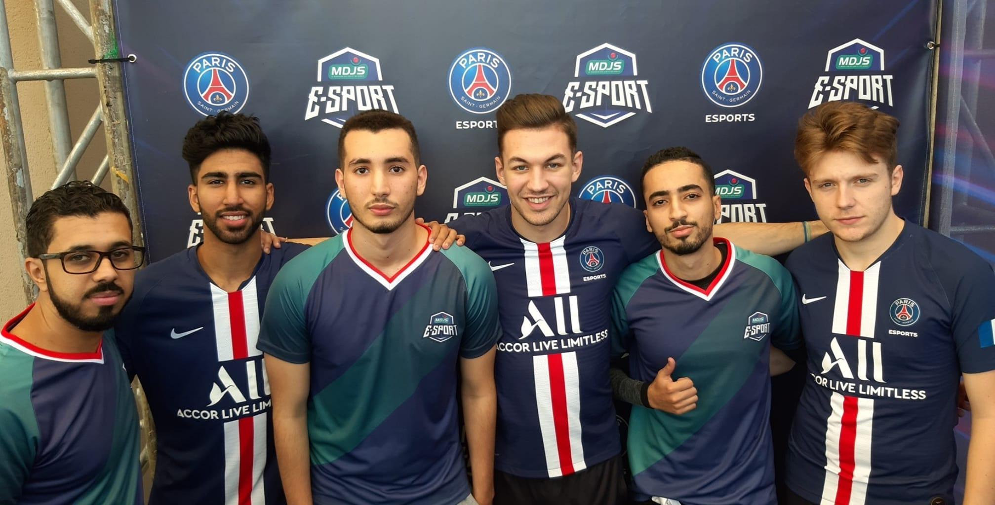 قمة متعادلة بين الفريقين الإلكترونيين (E-Sport) للمغربية للألعاب والرياضة وباريس سان جيرمان