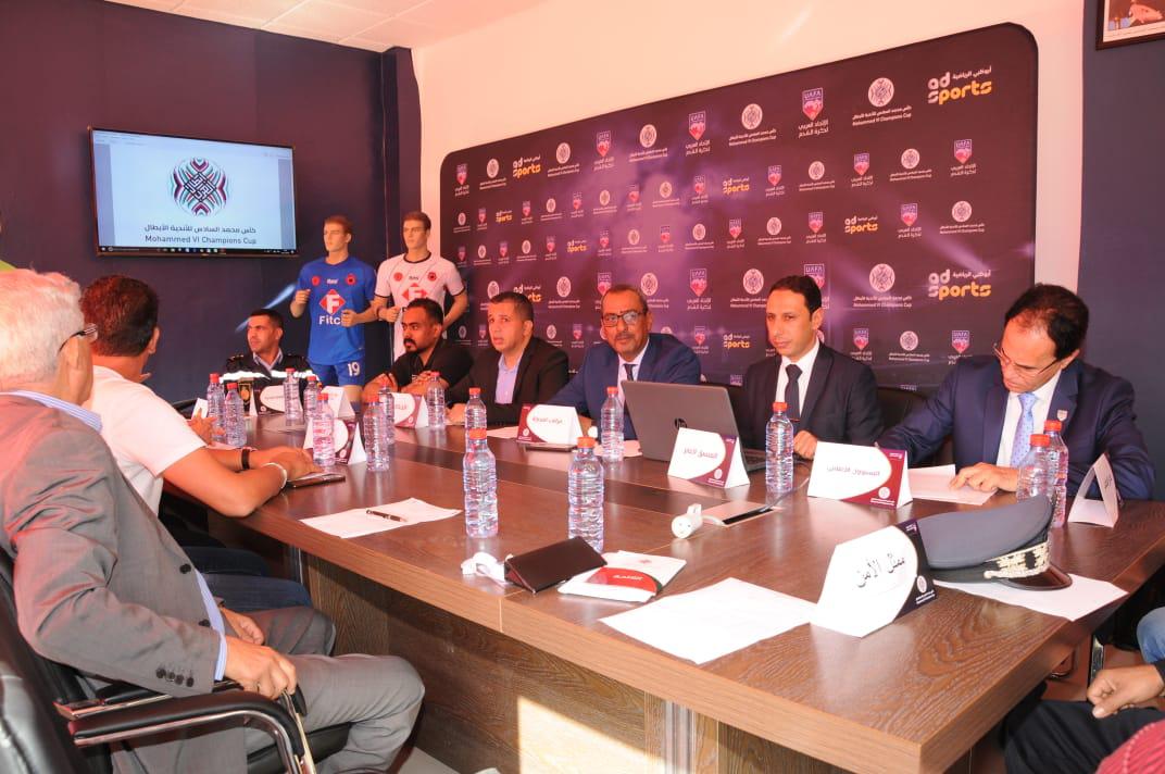 الإتحاد العربي يبحث آخر ترتيبات مباراة الأولمبيك والترجي