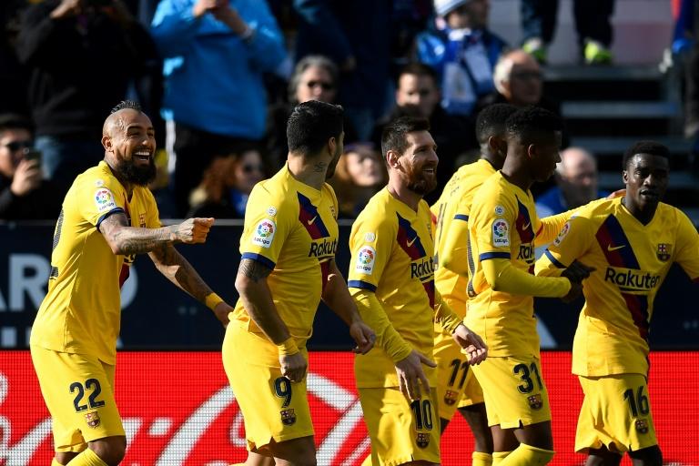 برشلونة يخرج من عنق الزجاجة ضد ليغانيس