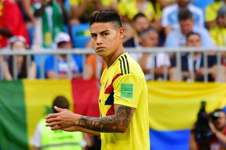 اصابة في الركبة تبعد الكولومبي رودريغيز عن ريال مدريد