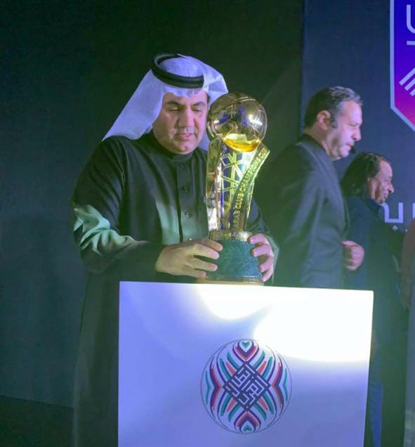 الأمين العام للإتحاد العربي يتغنى بديربي العرب