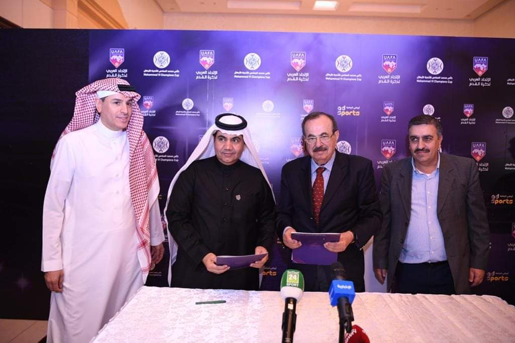 شراكة مثمرة بين الإتحادين العربي للصحافة الرياضية وكرة القدم