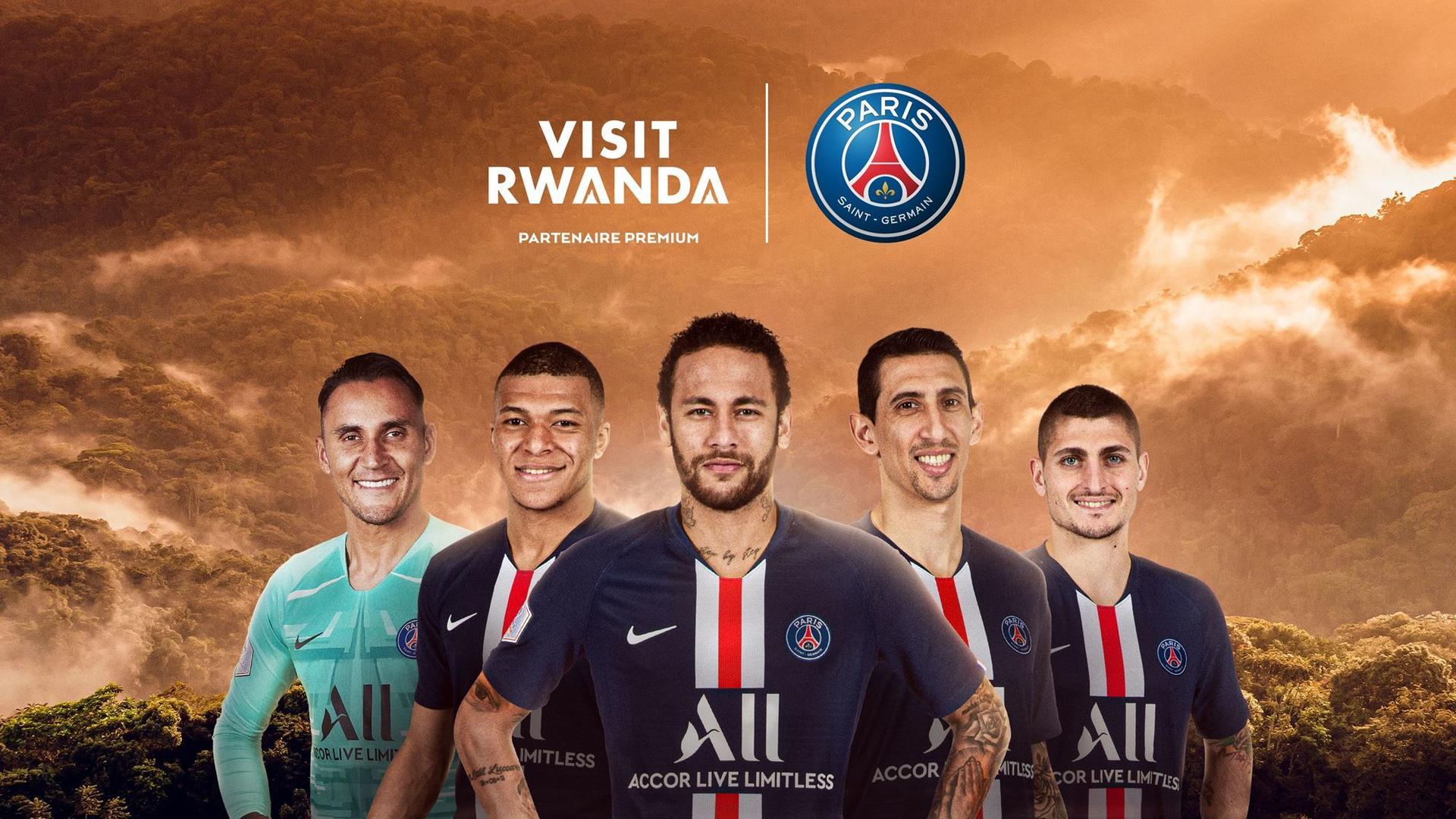 رواندا توقع اتفاقا مع نادي باريس سان جيرمان للترويج لسياحتها