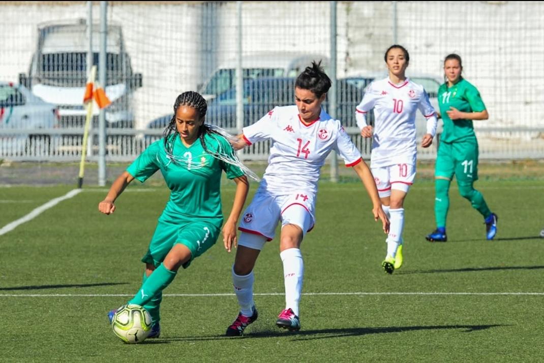 المنتخب الوطني لكرة القدم النسوية يفوز على المنتخب التونسي