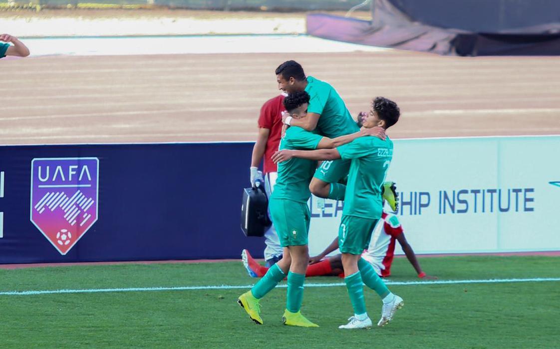 الأشبال حسموا تأهلهم لدور الربع نهائي كأس العرب