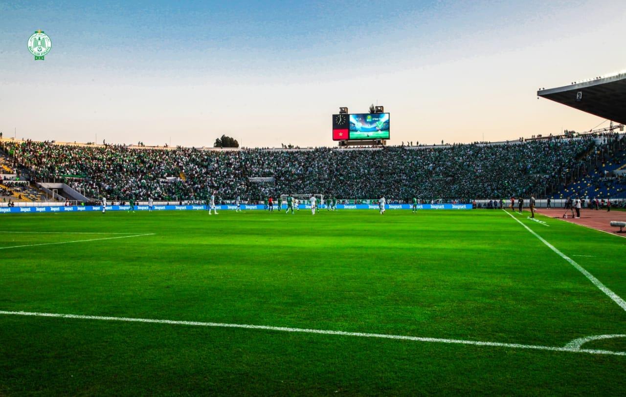 مباراة الرجاء ومولودية الجزائر بشبابيك مغلقة