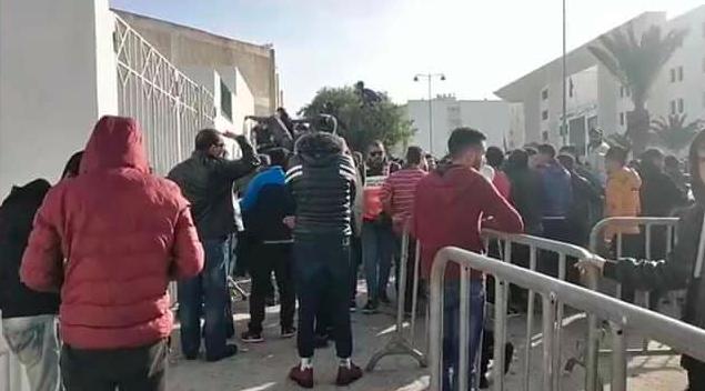 نفاذ تذاكر مبارة أولمبيك أسفي واتحاد جدة
