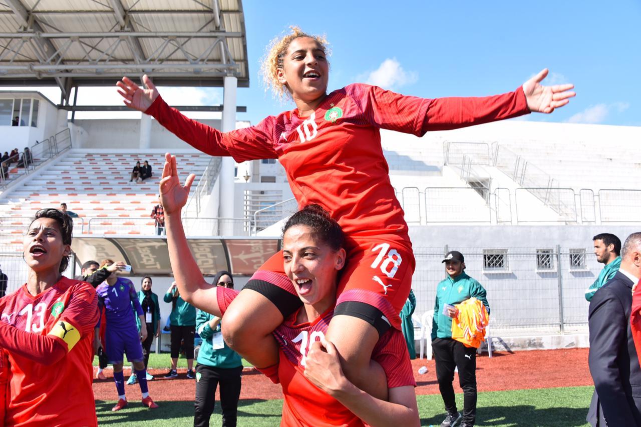 المنتخب الوطني النسوي بطلا لشمال إفريقيا