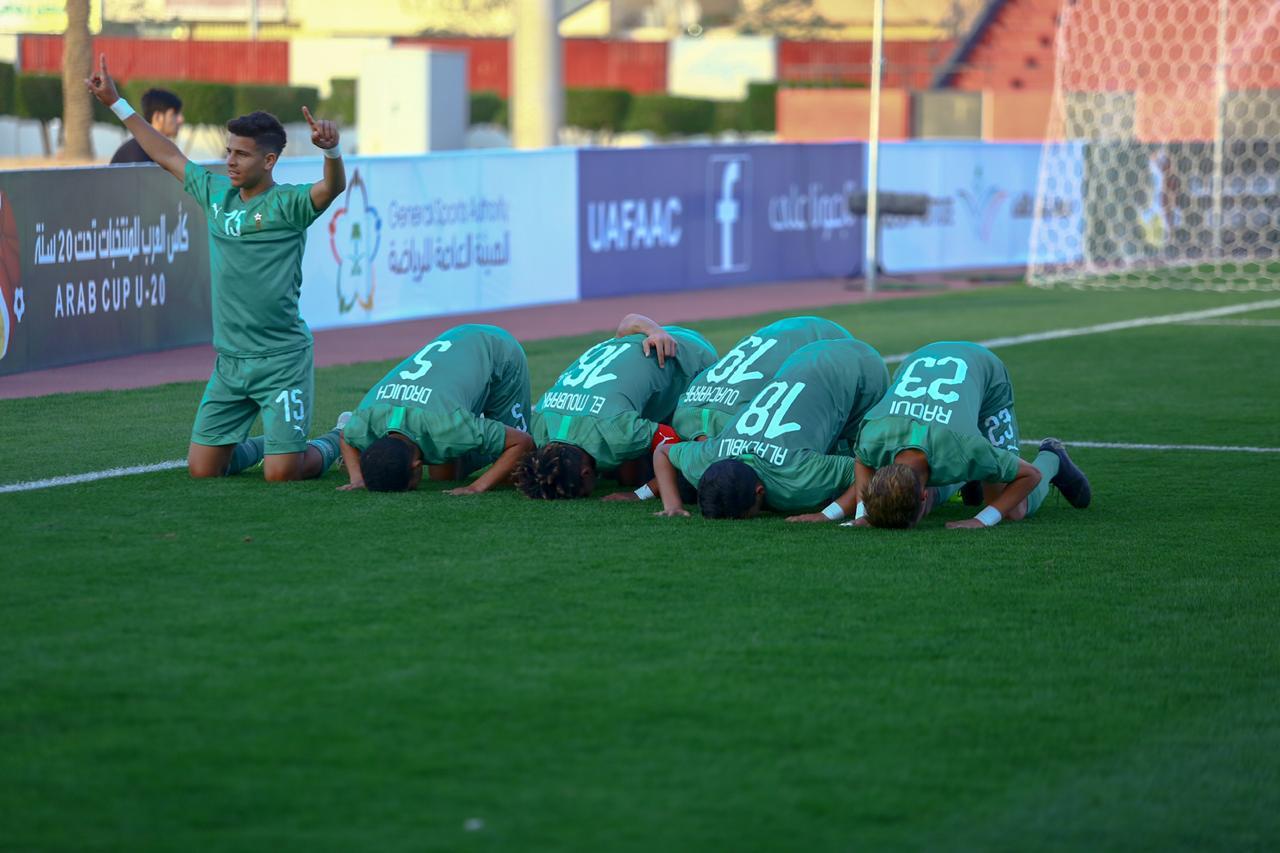 كأس العرب للشبان: المغرب بالعلامة الكاملة والبحرين يتأهل