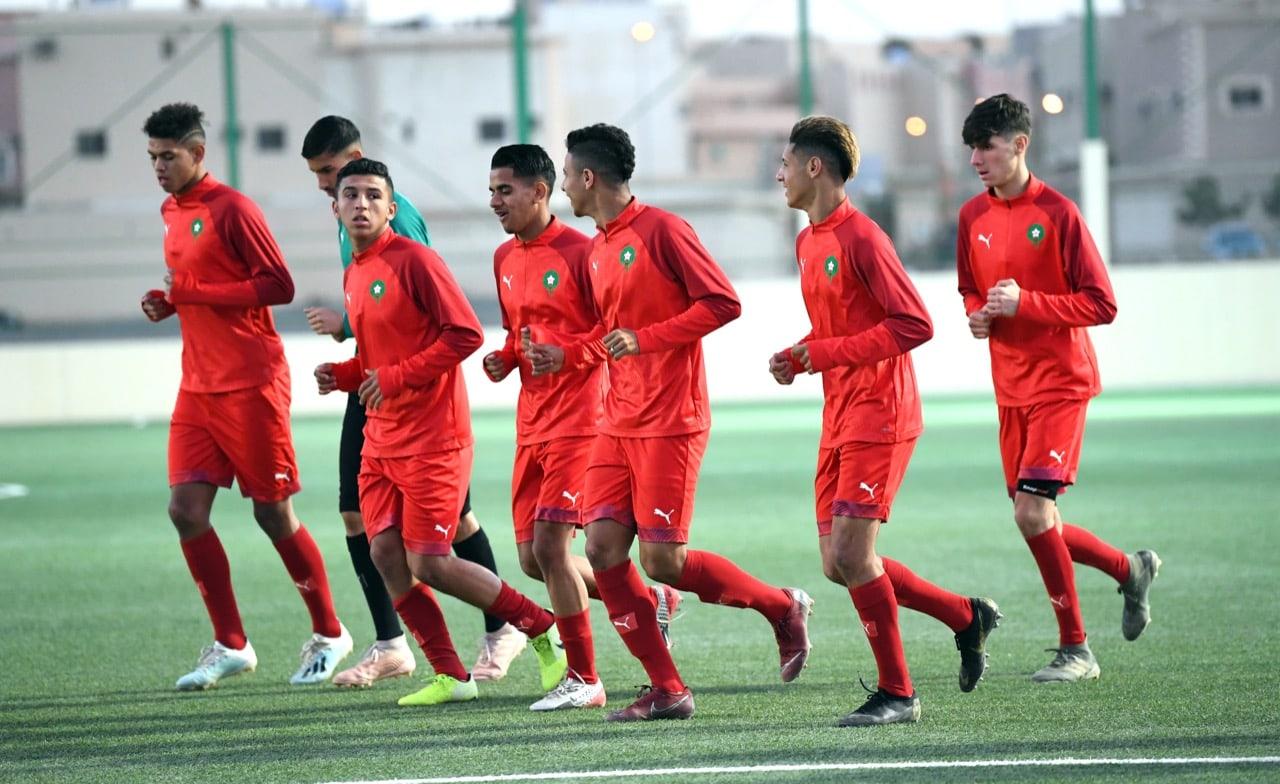 بهذا التشكيل يواجه منتخب أقل من 20 سنة منتخب البحرين