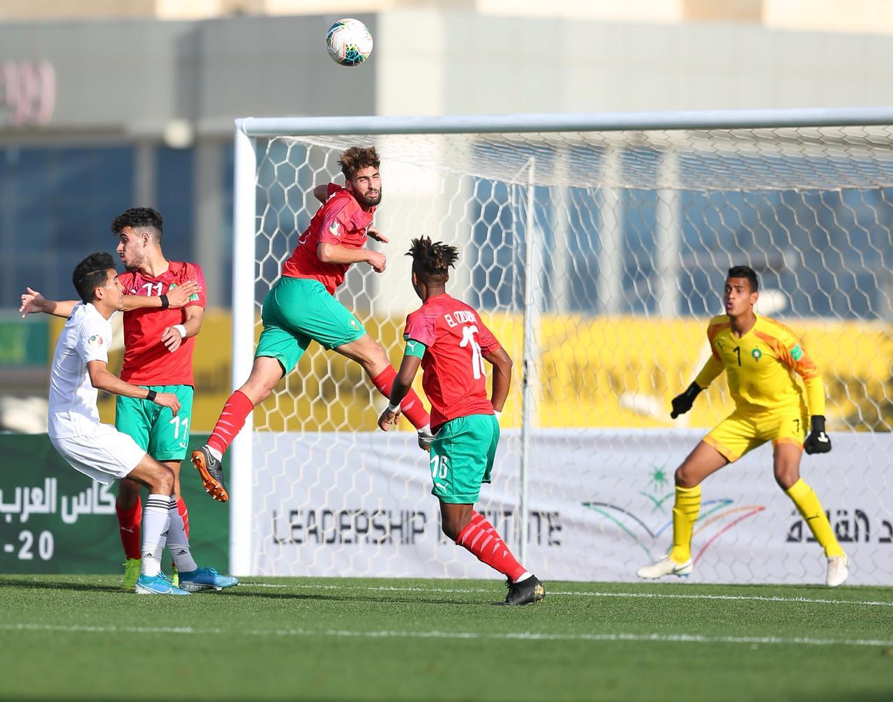 كأس العرب: الغزال أهدى للأسود كل الآمال