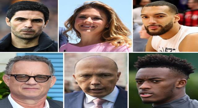 سياسيون ورياضيون وفنانون مصابون بڤيروس كورونا المستجد