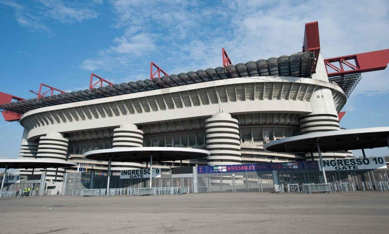 هدم ملعب  مدينة ميلانو  التاريخي