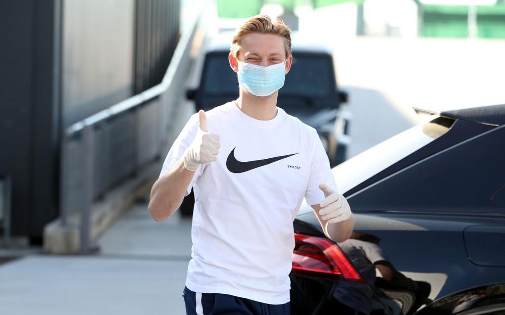 دي يونغ بعد استئناف تمارين برشلونة: اشتقت إلى كرة القدم