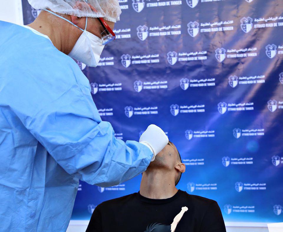 لاعبو اتحاد طنجة يخضعون للفحص الطبي